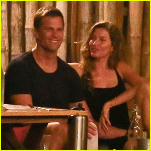 Tom Brady & Gisele Bundchen Chill Out Together In Costa Rica During Family Vacation