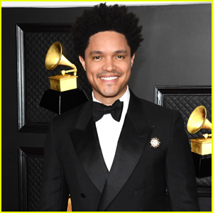 Trevor Noah Suits Up for Hosting Duties at the Grammys 2021