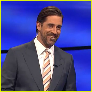 Funniest Moment of Aaron Rodgers' 'Jeopardy' Debut Happened in Final Jeopardy - Watch Now!