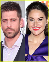 See Where Aaron Rodgers & Shailene Woodley Packed On the PDA