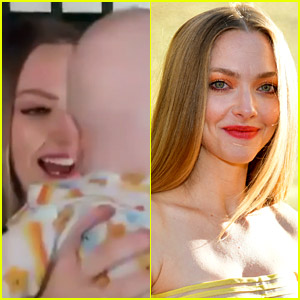 Amanda Seyfried's Baby Boy Makes Surprise Appearance During 'Today' Interview - Watch Now!