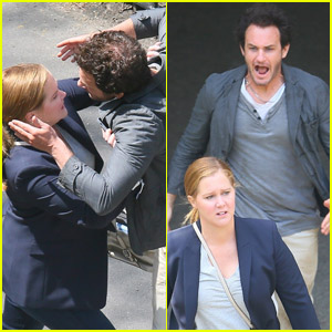 Amy Schumer Films Fight Scene for New Hulu Series 'Life & Beth'