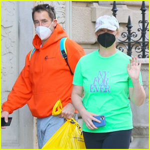 Amy Schumer Shows Her Love for New York While Out with Hubby Chris Fischer
