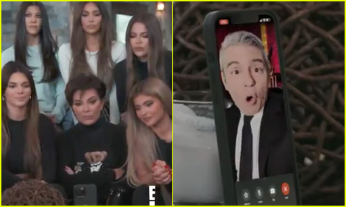 Kardashians Announce Reunion Special with Andy Cohen with One Of Their Famous FaceTime Pranks - Watch Now!