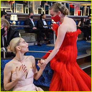 More Backstage Photos from Oscars 2021 - See What Happened During Commercial Breaks!