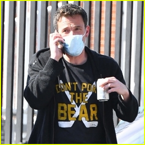 Ben Affleck Returns to L.A. After Wrapping Production on 'The Tender Bar'