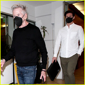 Calvin Klein Spotted at Dinner with Longtime Boyfriend Kevin Baker