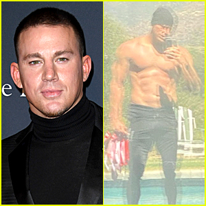 Hello to Channing Tatum & His Abs - See His New Shirtless Selfie!