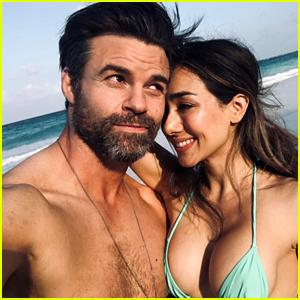 Daniel Gillies & Girlfriend Julia Misaki Share Photos from Their Beach Day!