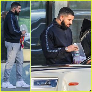 Drake Hits the Studio Alongside Pal Zack Bia