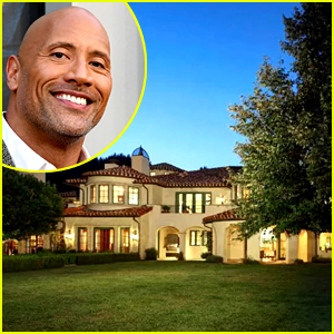 Look Inside Dwayne Johnson's New $27.8 Million Mansion with This Photo Gallery!