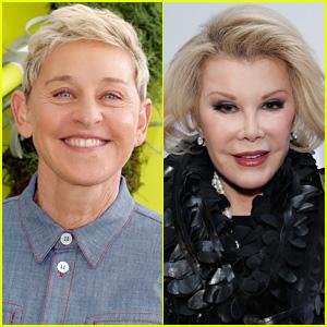 Were Joan Rivers & Ellen DeGeneres In a Feud? Daughter Melissa Rivers Reveals the Truth