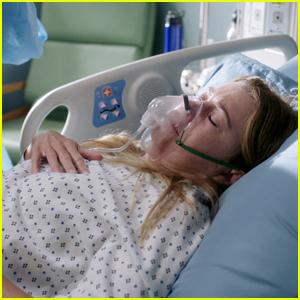 'Grey's Anatomy' Fan Jokes About Ellen Pompeo's Salary for Lying in Hospital Bed All Season