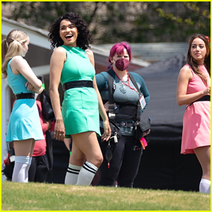 First Photos From Live Action 'Powerpuff Girls' Set Show The Girls In Costume!