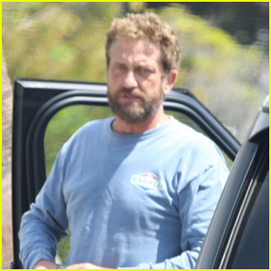 Gerard Butler Heads Out for a Ride in Malibu