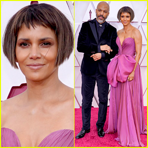 Halle Berry Chops Off Her Hair for Oscars 2021, Makes Red Carpet Debut with Van Hunt!
