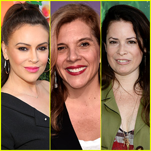 Alyssa Milano & Holly Marie Combs React To 'Charmed' Producer's Explanation Of Why She Quit