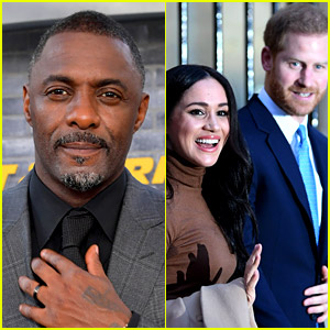 Idris Elba, aka Meghan & Harry's Wedding DJ, Weighs In on the Oprah Interview