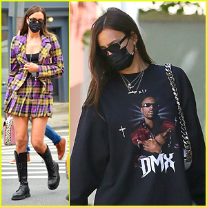 Irina Shayk Channels Her Inner Cher In This 'Clueless' Inspired Outfit