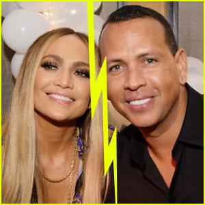 Jennifer Lopez & Alex Rodriguez Split, End Engagement - Read Statement