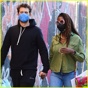 Jodie Turner-Smith & Joshua Jackson Hold Hands While Shopping in NYC