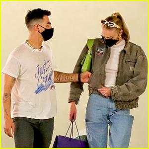 Joe Jonas Picks Sophie Turner's Pocket While Shopping Together in LA