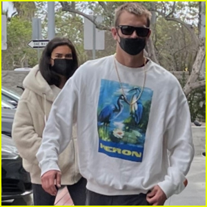 Joel Kinnaman Heads Out with Fiancee Kelly Gale After 'The Suicide Squad' Trailer Drops!