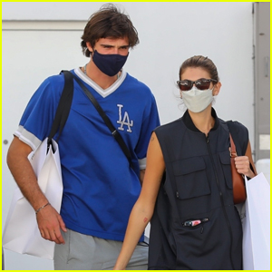 Kaia Gerber & Jacob Elordi Couple Up for an Afternoon of Shopping
