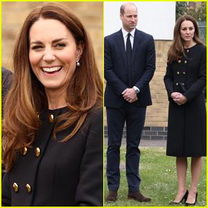 Kate Middleton & Prince William Make First Royal Visit After Prince Philip's Funeral