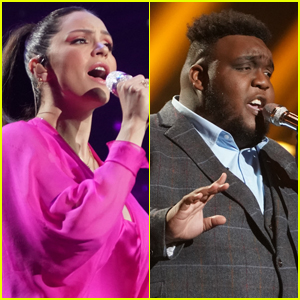 Katharine McPhee Returns to 'American Idol' Stage for Duet with Contestant Willie Spence - Watch!