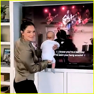Katharine McPhee's Son Just Watched Her on TV for the First Time!