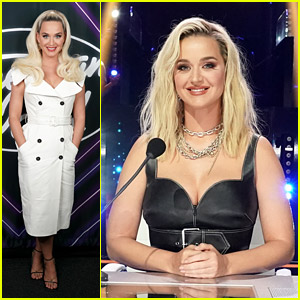 Katy Perry Looks Gorgeous in Two Glam Looks for 'American Idol' Top 24 Week!