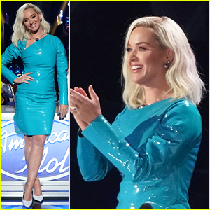 Katy Perry's Dress for 'American Idol' First Live Show Makes Fart Noise Sounds! (Video)