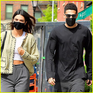 Kendall Jenner & Devin Booker Enjoy Rare Lunch Date in NYC
