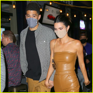 Kendall Jenner & Boyfriend Devin Booker Hold Hands During Night Out!