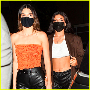 Kendall & Kylie Jenner Step Out for a Star-Studded Party in L.A.