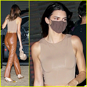 Kendall Jenner Wraps Up The Weekend By Grabbing Dinner With Friends at Nobu