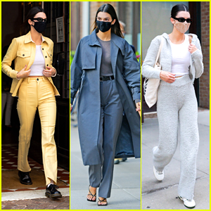 Kendall Jenner Wears Three Stylish Outfits As She Wraps Up Her NYC Trip