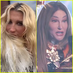 Kesha Reacts to Caitlyn Jenner Performing Her Song 'Tik Tok' on 'The Masked Singer' - Watch!