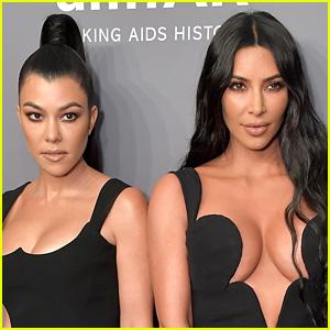 Kourtney Kardashian Points Out Kim Kardashian's Big Mistake on Her Birthday Card!