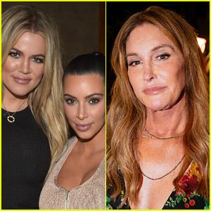 Kim & Khloe Kardashian Explain the State of Their Relationships with Caitlyn Jenner