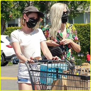 Kristen Stewart Steps Out on Her 31st Birthday with Girlfriend Dylan Meyer!