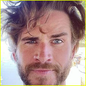 Liam Hemsworth Shows Off His Long Hair in a Selfie & Girlfriend Gabriella Brooks Reacts!