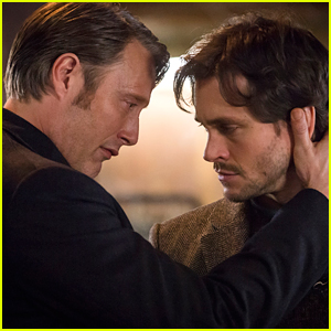 Mads Mikkelsen Reveals That There Was Almost A Kiss Between Him & Hugh Dancy on 'Hannibal'