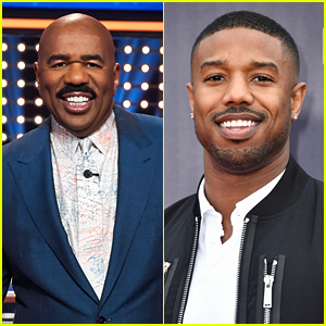 Michael B. Jordan Would Jump At The Chance To Be on 'Celebrity Family Feud' Hosted By Steve Harvey