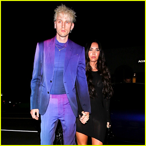 Megan Fox & Machine Gun Kelly Join Tons of Celebs for a Party in L.A.