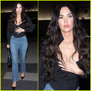 Megan Fox Struts Her Way to Dinner in West Hollywood