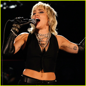 Miley Cyrus Performs During NCAA March Madness Final Four 2021!