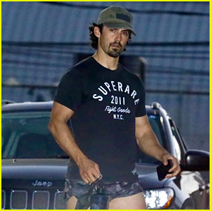 Milo Ventimiglia Wore Short Shorts After Leg Day Again & We Have Photos!