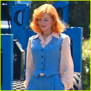 Nicole Kidman Spotted with Lucille Ball's Iconic Red Hair in New 'Being the Ricardos' Set Photos